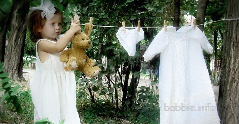 Как приучить ребенка стирать свои вещи