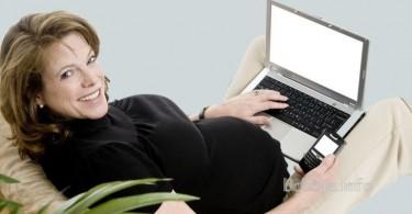 Компьютер во время беременности