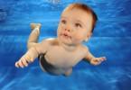 Как заниматься плаванием с младенцем
